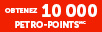 10,000 Petro-Points en prime
